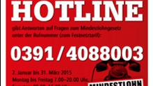 Hotline Mindestlohn