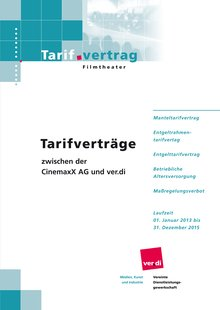 Tarifvertrag Cinemaxx