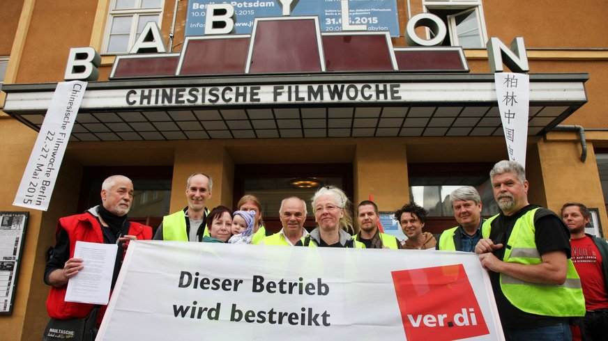 Streik im Berliner Babylon