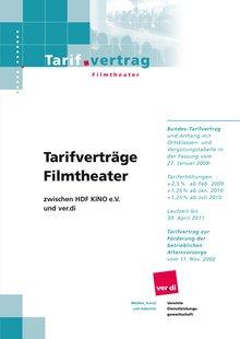 Tarifvertrag HDF-Kino