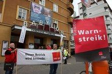 Streik im Babylon Berlin